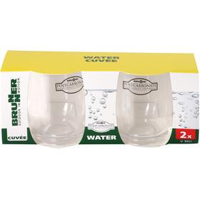 Brunner Cuvée Set de Vasos de Agua, durchsichtig